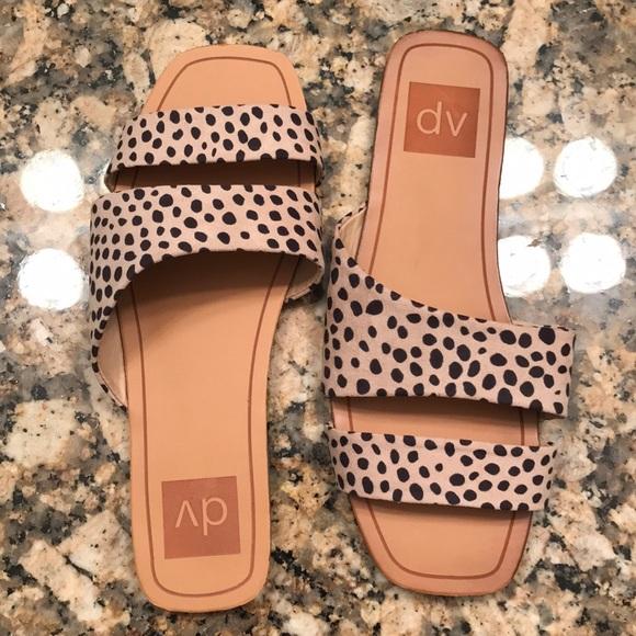 Target Dv Cheetah Print Sandals   Poshmark